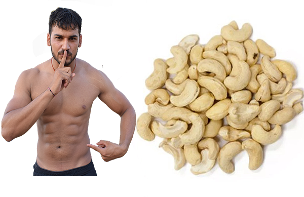 What are the benefits of cashew nuts for men?